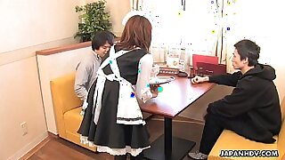 Amateur Asian girl after a long foursome fucked - 0:59