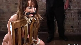 Bound slave fucked and made squirt - 5:00