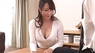 Slim mom positions her tight cunt on hard cock whilst deepthroating - 5:00