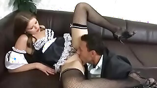 Couple Fuck The Maid Together - 32:00