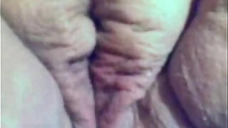 Fat chubby girlfriend masturbating her wet pussy and hard wet clit - 4:00