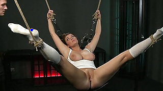 BDSM XXX Beautiful girls are Shackled before pleasing their Masters - 12:00