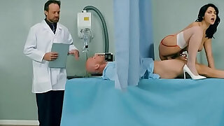 His cock is too big for his wife but perfect for his nurse - 6:00