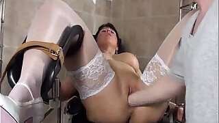 Blond milf fucked by her Doctor - 6:00