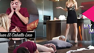 Horny Step Mom Katie Morgan Punishes Juan For Messing Up The Condo - 12:00