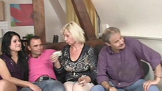 Meeting with his parents turns into 3some - 6:00