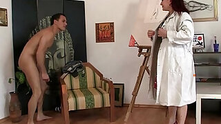 Hot mature lady jumps on his cock - 6:00