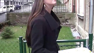 Bitch stop pretty and busty long haired brunette - 14:00