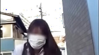 Japanese girl masturbate in public place and toilet - 8:00
