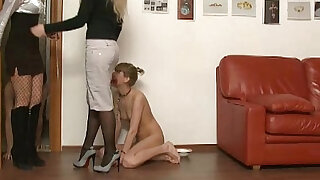 Young amateur couple with two mistresses - 5:00