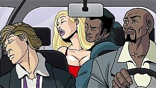 Cleaning Sex! Interracial Fuck Uncensored Cartoon Movies - 6:45