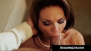 Big busty cougar fucks herself from Hung close Th party - 8:49